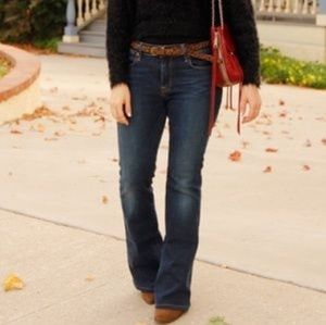 NWT Lucky Brand dark wash flare jeans size 8